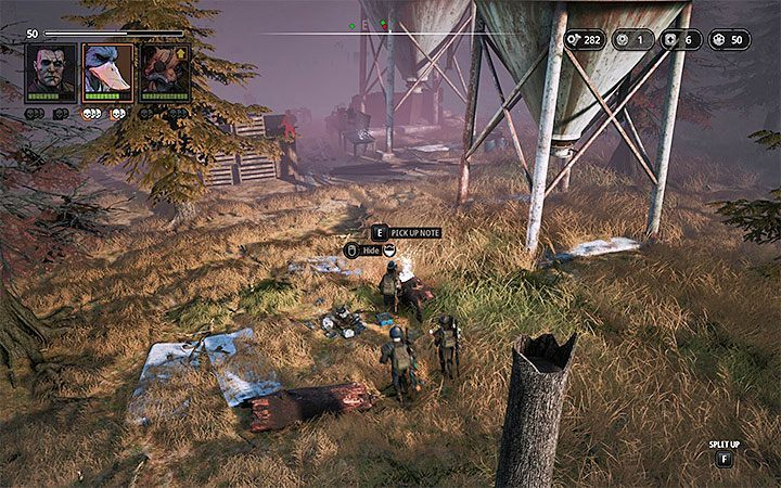 Location: Cultlands - Notes in Mutant Year Zero Road to Eden - Secrets - Mutant Year Zero Road to Eden Guide