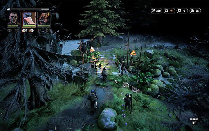 Alternatively, you can approach the main base by utilizing a second, smaller bridge - Lair of the Horned Devil | Mutant Year Zero Road to Eden World Atlas - World Atlas - Mutant Year Zero Road to Eden Guide