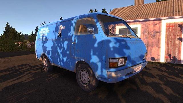 Hayosiko The Blue Van Playable Vehicles In My Summer Car