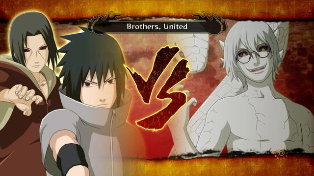 Sasuke And Itachi Vs Kabuto Storm 3 The fight against kabuto is