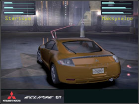 The first Mitsu in the game is a little faster car than Mazdas - Tuner cars - CARS - Need for Speed Carbon - Game Guide and Walkthrough