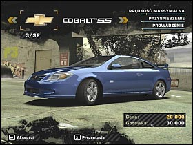 3 - Buying your first car - Career - Need for Speed: Most Wanted - Game Guide and Walkthrough