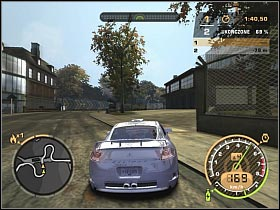 Try to stay focused while going through the right turn (#1) - Black List #13 - Vic - Career - Need for Speed: Most Wanted - Game Guide and Walkthrough