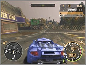You might want to consider using the shortcut located on your right, however this is not necessary - Black List #2 - Bull - Career - Need for Speed: Most Wanted - Game Guide and Walkthrough