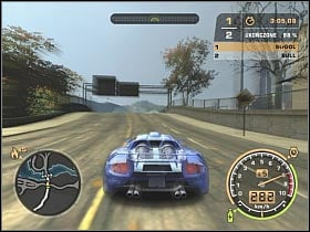 Bull was driving a Mercedes SLR with all of the performance upgrades installed - Black List #2 - Bull - Career - Need for Speed: Most Wanted - Game Guide and Walkthrough
