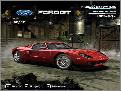 Ford Gt  Cars Iv Misc Need For Speed Most Wanted Game Guide