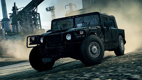 Another unique car is the Hummer H1 Alpha - Cars list - Need for Speed: Most Wanted (2012) - Game Guide and Walkthrough