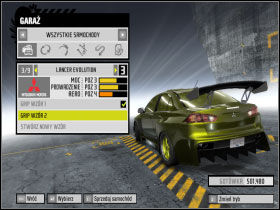1 - Changing car settings (tuning) - Basic Information: - Need For Speed: ProStreet - Game Guide and Walkthrough