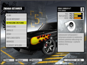 2 - Changing car settings (tuning) - Basic Information: - Need For Speed: ProStreet - Game Guide and Walkthrough