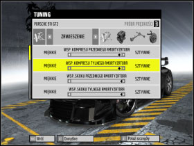 3 - Changing car settings (tuning) - Basic Information: - Need For Speed: ProStreet - Game Guide and Walkthrough