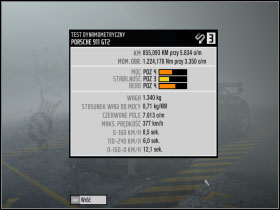 4 - Changing car settings (tuning) - Basic Information: - Need For Speed: ProStreet - Game Guide and Walkthrough