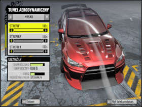 5 - Changing car settings (tuning) - Basic Information: - Need For Speed: ProStreet - Game Guide and Walkthrough
