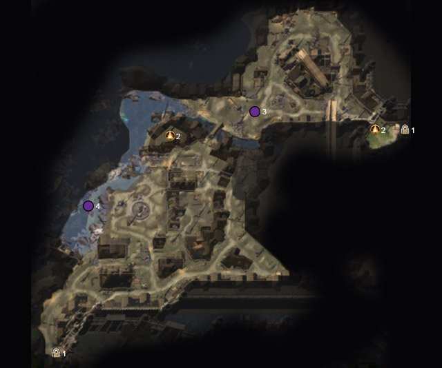 Legend - Blacklake District (6-9) - Maps - Neverwinter - Game Guide and Walkthrough