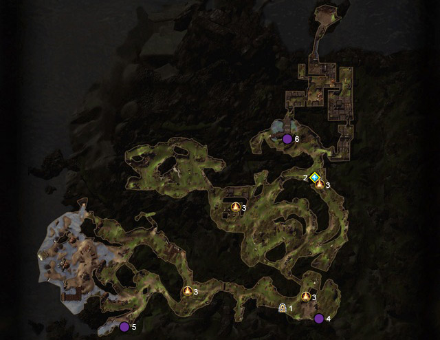 Legend - Blackdagger Ruins (20-25) - Maps - Neverwinter - Game Guide and Walkthrough