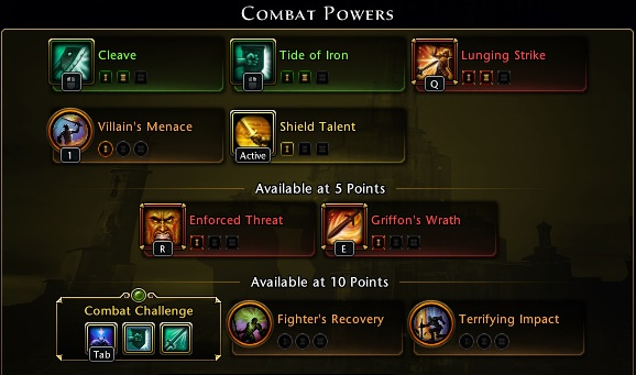 Upgraded skills can have stronger damage or healing, faster recharge, longer duration - Statistics and hero chart - Hero - Neverwinter - Game Guide and Walkthrough