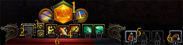 Skill bar in Neverwinter have only few buttons and indicators - Statistics and hero chart - Hero - Neverwinter - Game Guide and Walkthrough