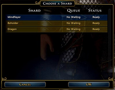 1 - Start screen and server selection - First steps - Neverwinter - Game Guide and Walkthrough
