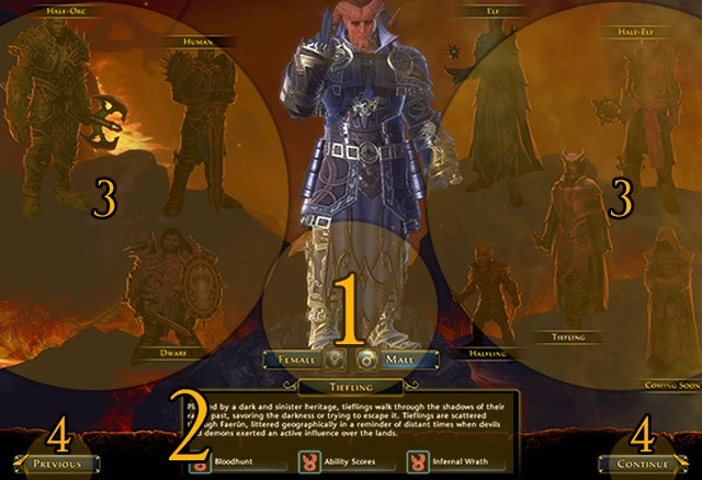 Character creation | First steps - Neverwinter Game Guide