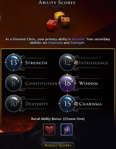 Each class have one main ability and two secondary, and the gameplay is minimally affected by remaining three - Character creation - First steps - Neverwinter - Game Guide and Walkthrough
