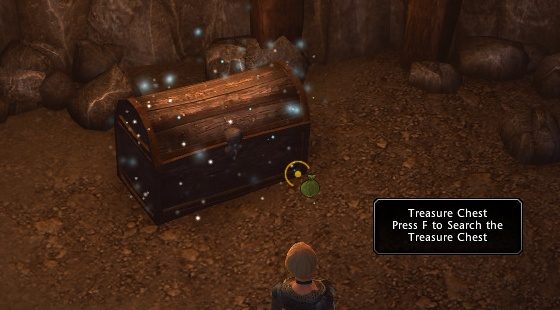 Aside treasure chests and quest objects you will find containers with valuable content commonly called Skill Checks, and while everyone around or in group can open one treasure chest or use quest object Skill Checks disappear for long time after someone opens them - World exploration - Game basics and exploration - Neverwinter - Game Guide and Walkthrough