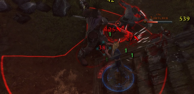 In every fight you can see different numbers floating around your hero, companion, and the enemy, they are the damage and healing values along with various markings - Combat - Game basics and exploration - Neverwinter - Game Guide and Walkthrough