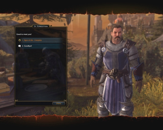 Dialog box choices are marked in different colors - Quests - Neverwinter - Game Guide and Walkthrough