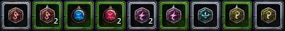 Some runes have only one property, thus can be put only in few items with such enchantment slot, but most runes have dynamic properties changing depending on what slot they were put in - Runes and enchantments - Equipment - Neverwinter - Game Guide and Walkthrough