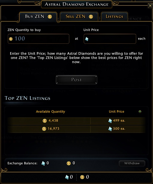 Zen is available for purchase from Perfect World website (http://nw - Zen - Currencies - Neverwinter - Game Guide and Walkthrough