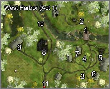 The village has been attacked - West Harbor Under Siege - West Harbor - Neverwinter Nights 2 - Game Guide and Walkthrough