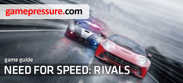 The below text is a complete guide for Need for Speed Rivals game, helping both in understanding its basic rules, as well as more complicated elements, so achieving further goals will become much easier and more enjoyable - Need for Speed Rivals - Game Guide and Walkthrough