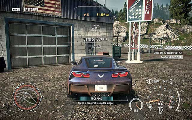 Losing cops racer career need for speed rivals game guide another way to end the police pursuit is getting to any hideout in the game world gumiabroncs Images