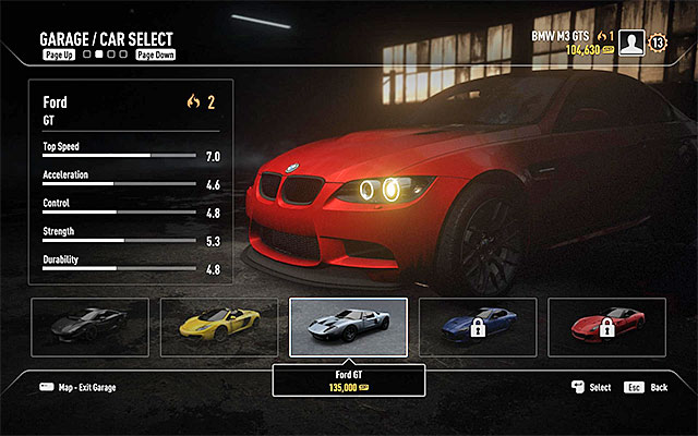 Need For Speed Rivals Car List Spending points | Race...