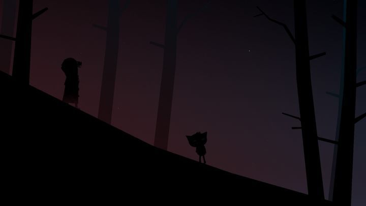 Finally, you will come face-to-face with the ghostly figure. - Chapter 4 | Walkthrough - Walkthrough - Night in the Woods Game Guide