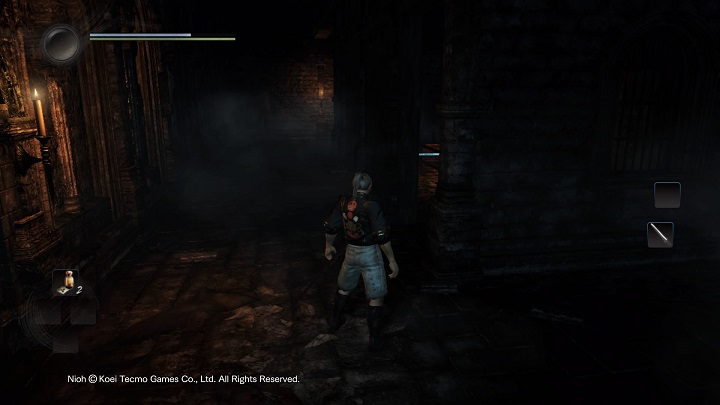 The way forward leads us to the room shown on the screenshot - The Man with the Guardian Spirit | Main missions - Main missions - NiOh Game Guide
