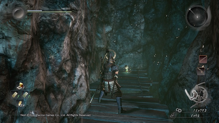 Once you get up, keep going to the right - The Silver Mine Writhes | Main missions - Main missions - NiOh Game Guide