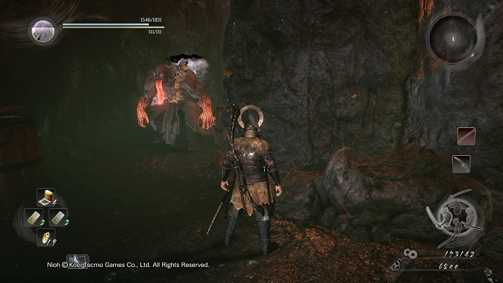 In the mentioned place you will find an opponent whom you havent had an opportunity to meet before - The Magatama of Fire | Side missions - Side missions - NiOh Game Guide