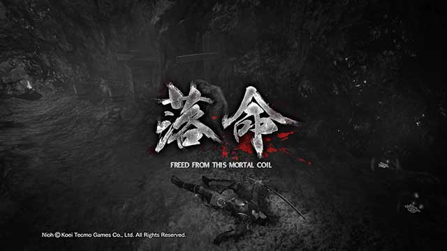 You will see this message quite often - How does dying in NiOh work? - Gameplay mechanics - NiOh Game Guide