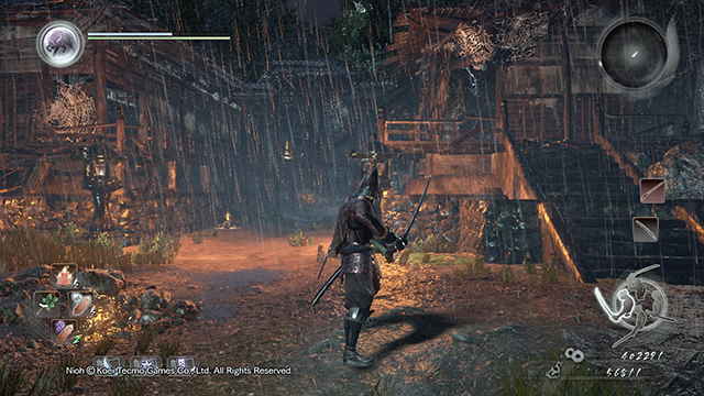 You can search the buildings - The Demon of Mount Hiei | Main missions - Main missions - NiOh Game Guide