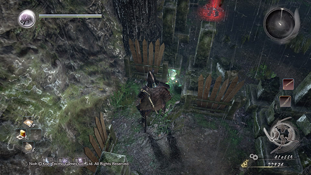 Kodama can be found on a cemetery among graves - The Demon of Mount Hiei | Main missions - Main missions - NiOh Game Guide