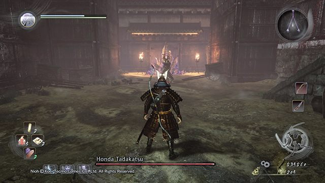 Destroy the crystals in order to avoid the battle - The Defiled Castle | Main missions - Main missions - NiOh Game Guide