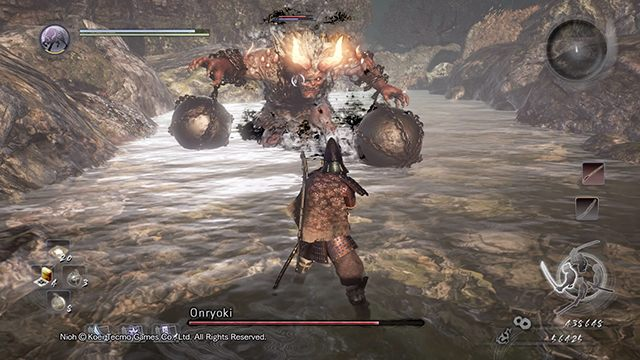 Once again you will face Onryoki - Demon Hunting | Side missions - Side missions - NiOh Game Guide