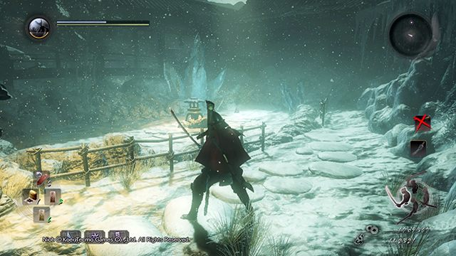 A small arena of the last fight - The Inheritance | Side missions - Side missions - NiOh Game Guide