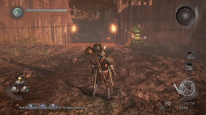 The mission takes place in the same area that you have been exploring during Deon Island - Death to Bandits | Side missions - Side missions - NiOh Game Guide