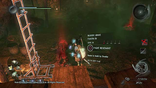 You can summon Revenants, ghosts of other players that died in that place. - Enemies | Gameplay mechanics - Gameplay mechanics - NiOh Game Guide