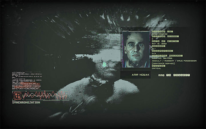 After scanning the implant confirm that you want to hack Amir Nowak�s mind. - Examine apartment and hack into Amir Nowaks mind | Case #405 Walkthrough - Case #405: Finding Adam - Observer Game Guide