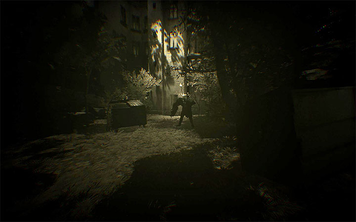 Further memories force you onto a linear march again, also when you are in the woods again for a while - Investigate the assassins body and break into his mind | Case #405 Walkthrough - Case #405: Finding Adam - Observer Game Guide