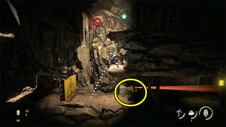 You'll find the key while playing the 2 - Oddworld Soulstorm: Keys - full list - Finders & Secrets - Oddworld Soulstorm Guide