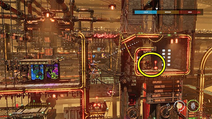 You'll find the key while playing the 14 - Oddworld Soulstorm: Keys - full list - Finders & Secrets - Oddworld Soulstorm Guide