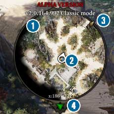 Mini-map is a very useful tool that allows for efficient navigation and locating potential dangers before we can see them on the screen - Game Interface | Basics - Basics - Divinity: Original Sin II Game Guide