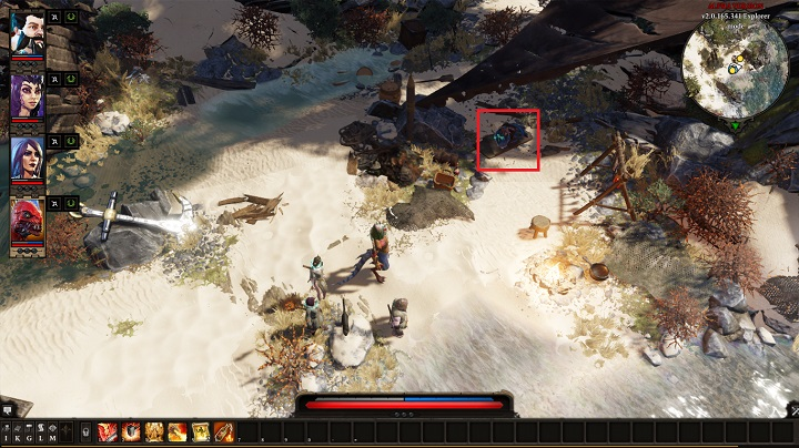 In order to retrieve the stolen supplies, go back towards the Caverns - The Imprisoned Elf | Act I - Chapter II - Fort Joy - Divinity: Original Sin II Game Guide